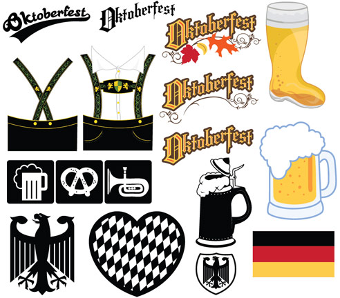15cfc295 Free Vector Art: Oktoberfest Icons and Illustrations - Perfect for ...