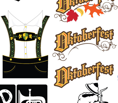 Free Vector Art: Oktoberfest Icons and Illustrations ...