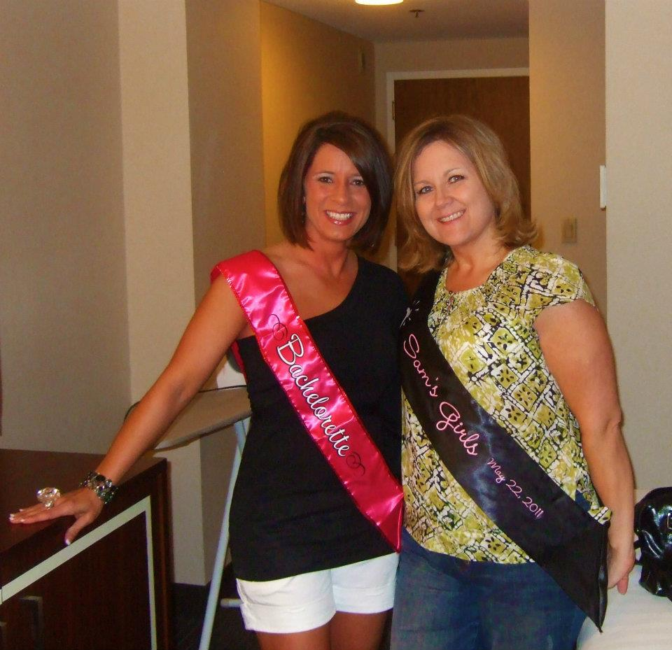 Custom sashes for your bachelorette party