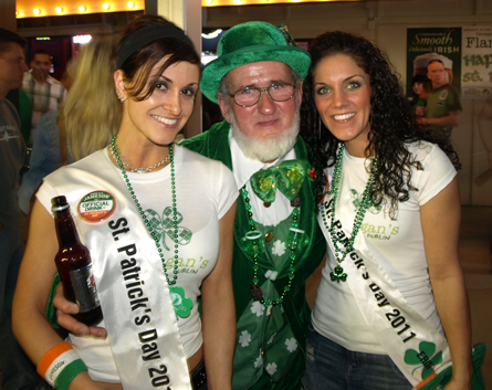 custom sashes for st. patrick's day