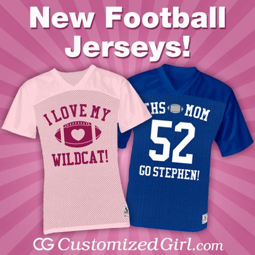 wholesale dealer 40065 db681 New Custom Football Jerseys! - CustomizedGirl Blog