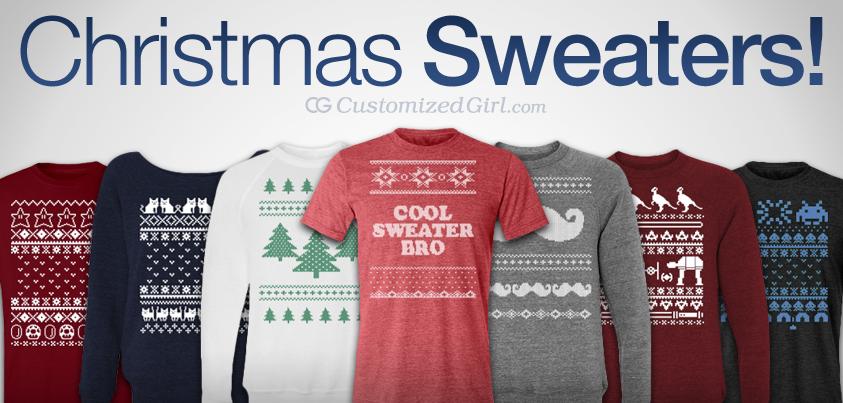 Custom Christmas Sweaters.Custom Ugly Christmas Sweaters Customizedgirl Blog