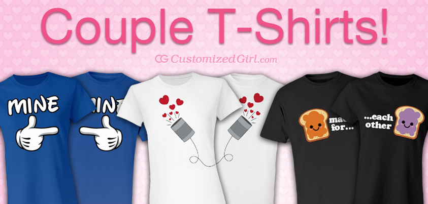 Matching Couple T-Shirts