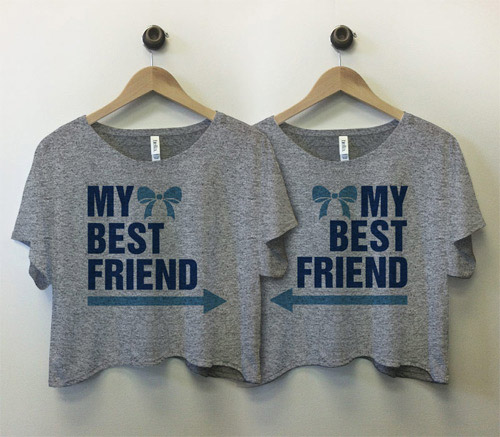 Best Friend Bow Arrow Tees