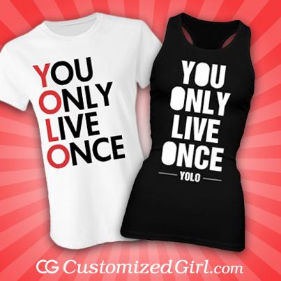 YOLO shirts