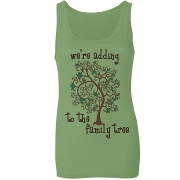 Family Tree Maternity Shirt