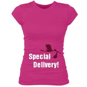Special Delivery Stork Maternity Shirt