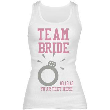 Top 5 custom tank tops customizedgirl blog for Bridal shower t shirt sayings
