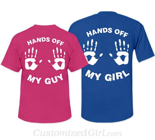 Matching Couple Shirts - Hands Off My Guy/Girl