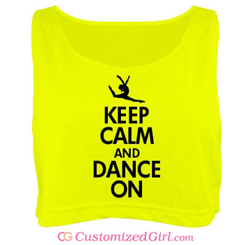 Keep Calm and Dance On Shirt