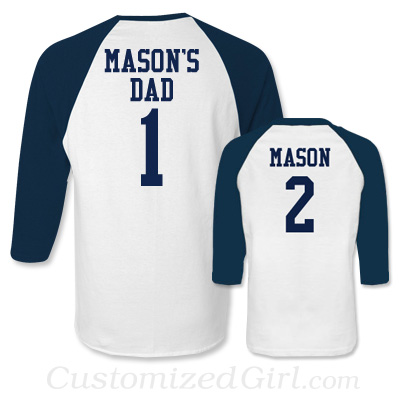 Matching Father and Son Shirts