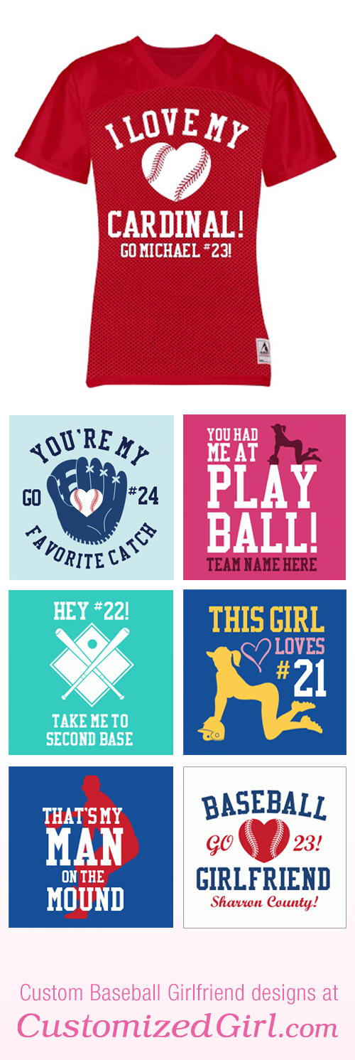 Baseball Girlfriend Shirt