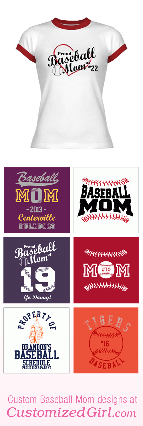 Baseball Mom Shirts
