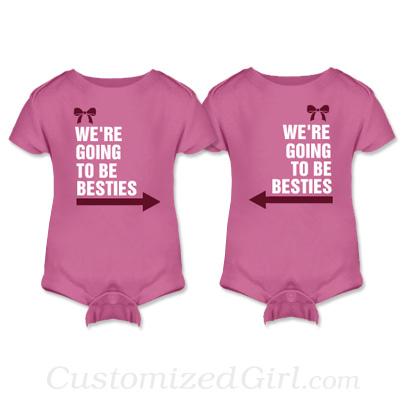 Besties Matching Onesies