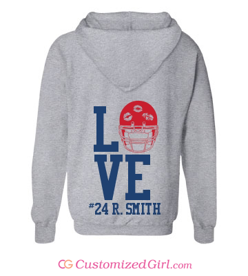 Football Girlfriend Shirt helmet