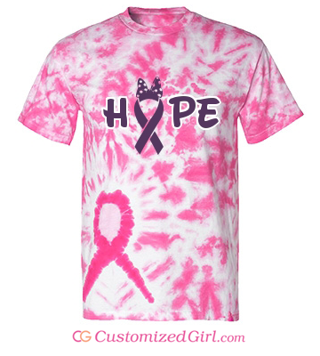 Hope tie dye shirt