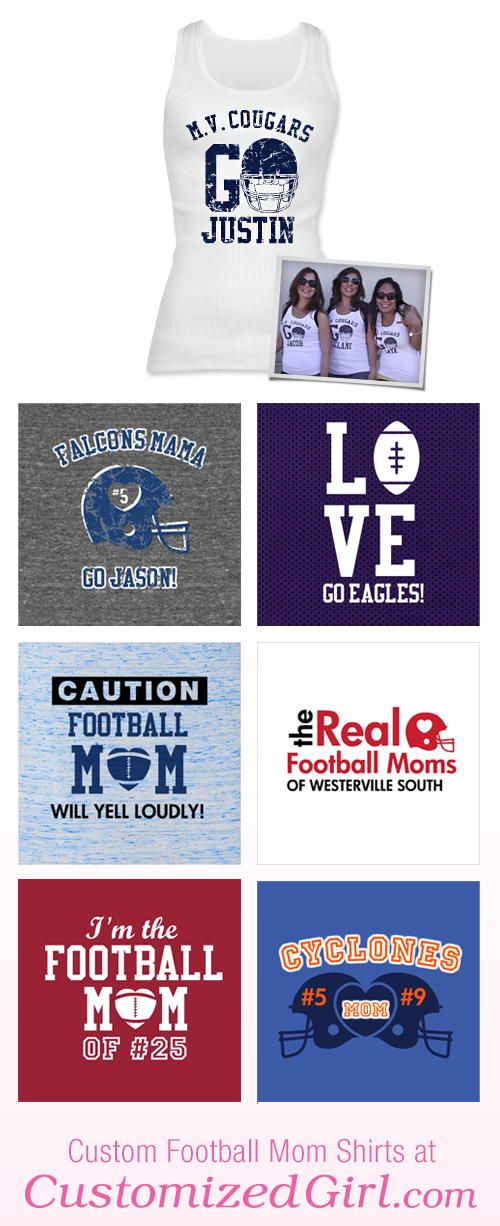 Football Mom Shirts