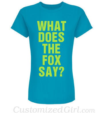 What Does The Fox Say Shirts 3