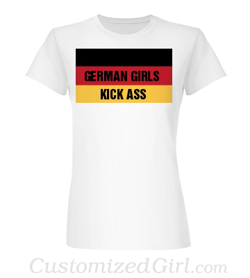 oktoberfest shirt German girls kick ass
