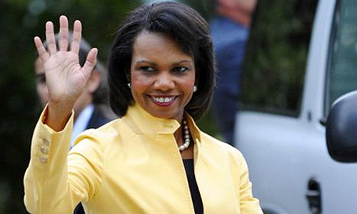 Condoleezza Rice Powerful Statement Maker
