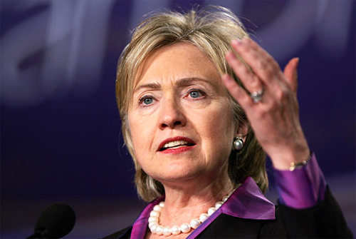 Hilary Clinton Powerful Statement Maker