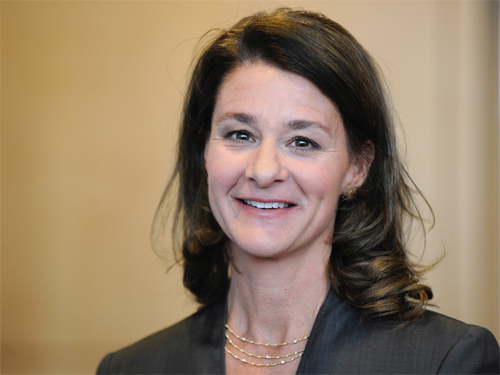 Melinda Gates Powerful Statement Maker
