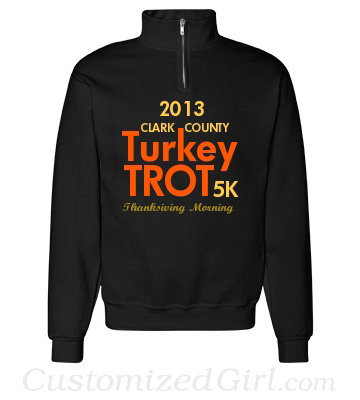 Turkey Trot Custom Shirt