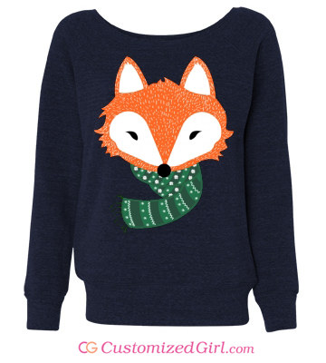 Cozy Fox Custom Sweatshirt
