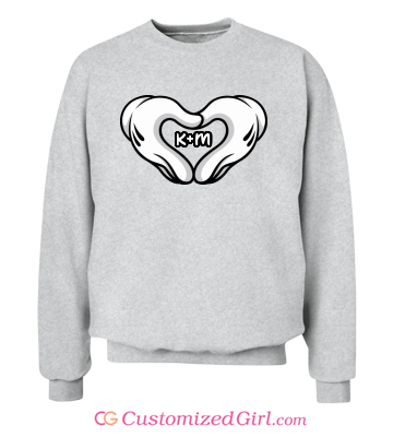 Love Hands Custom Sweatshirt