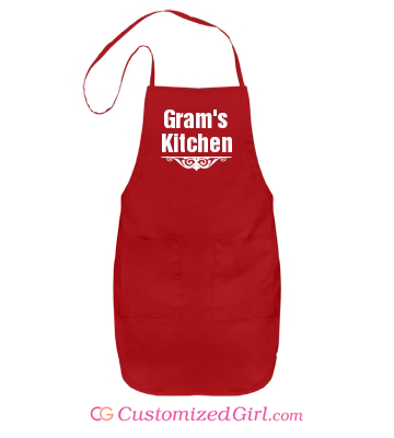 Stocking stuffer gift custom apron
