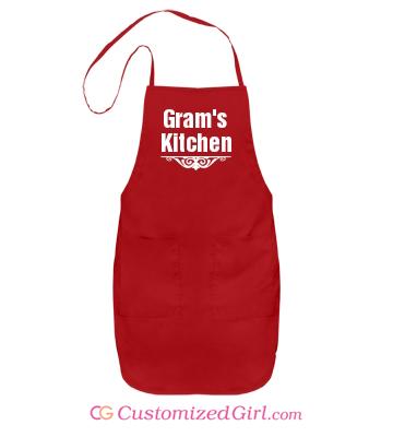 Stocking stuffer gift custom apron