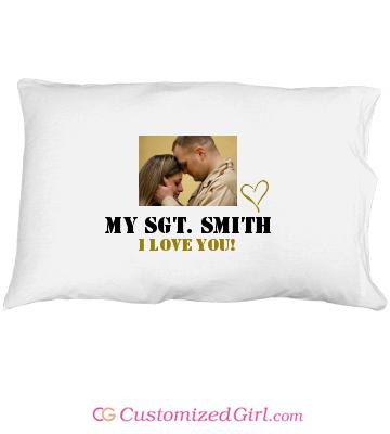 Stocking stuffer gift custom pillowcase