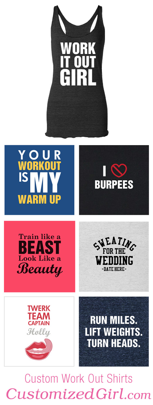 Custom Workout Shirts