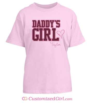 Daddy's Girl Kids Shirt