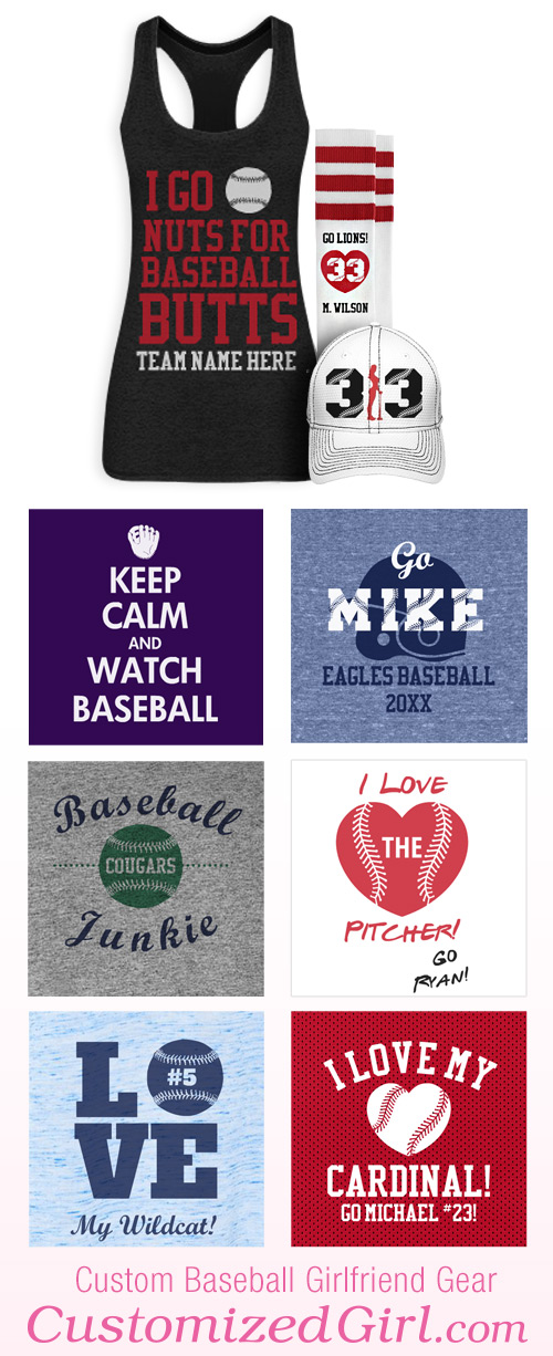 Baseball Girlfriend Designs