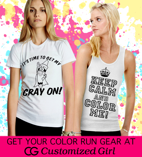 Custom Color Run Shirts
