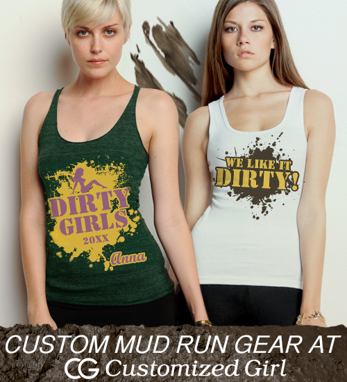 Custom Mud Run Shirts