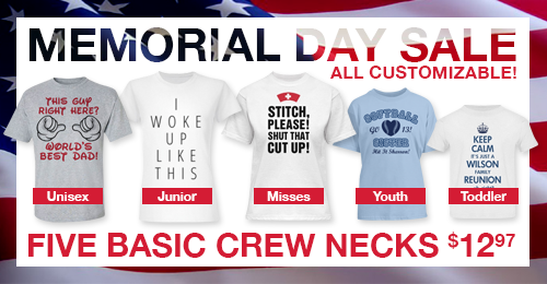 Basics Memorial Day Sale