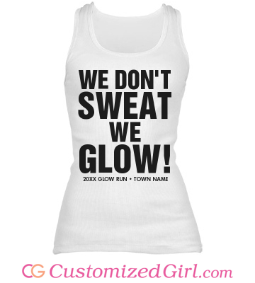 The Perfect Glow Run Tank