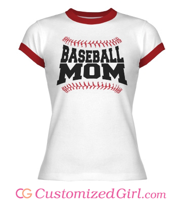Proud Baseball Mom Tee