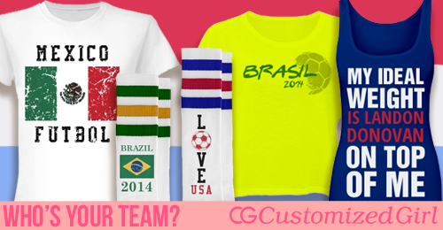 Custom Soccer Fan Shirts