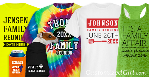 Custom Family Reunion Shirts
