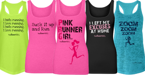 Pink Runner Girl fitness apparel