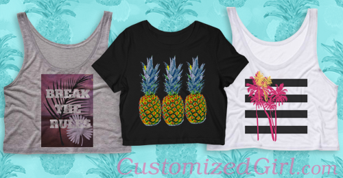Custom Tropical Print Shirts