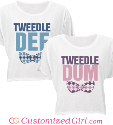 Tweedle Dee Tweedle Dum Shirts