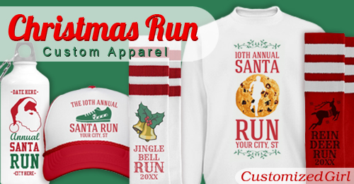Christmas Running Top.Running Shirts Archives Customizedgirl Blog