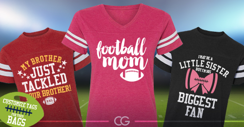 Custom Football Shirts and Hoodies For The Whole Family ...