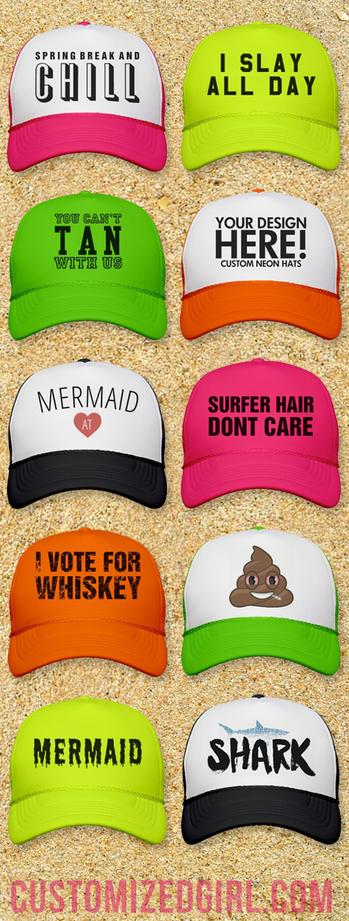Spring Break Trucker Hats