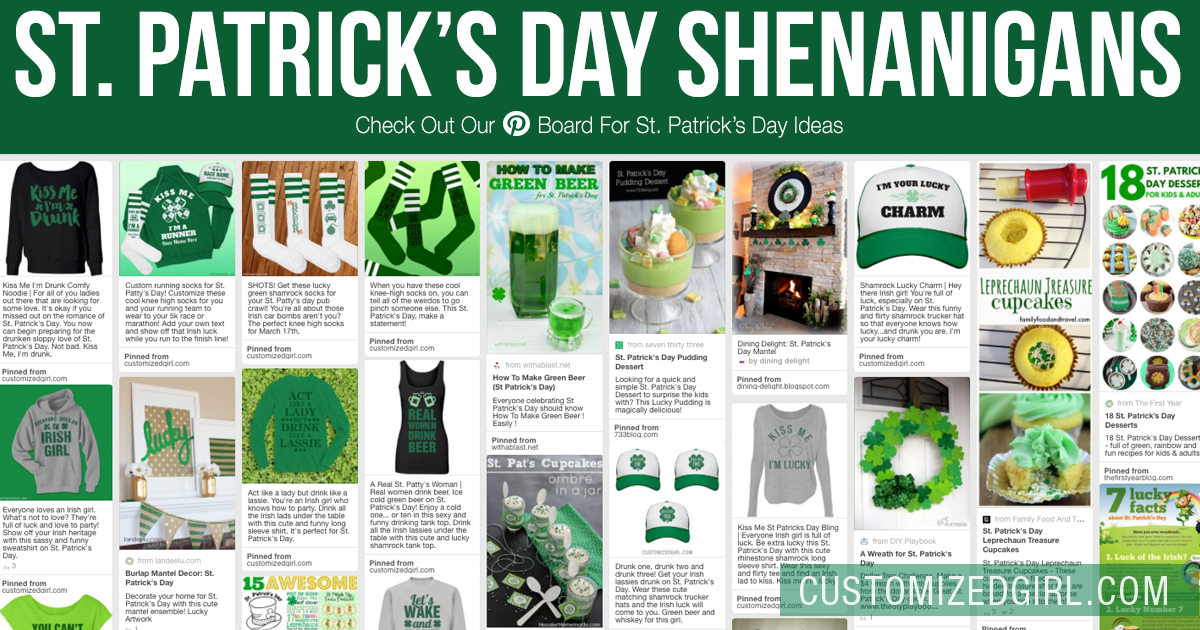 Ideas For St. Patrick's Day