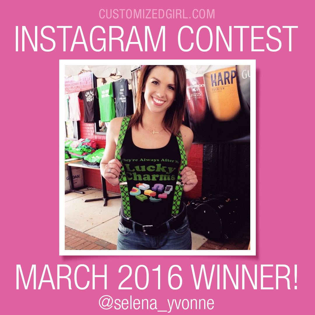 March Instagram Selfie Winner
